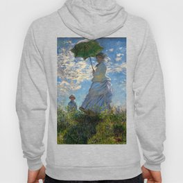 Woman with a Parasol - Madame Monet and Her Son Hoody
