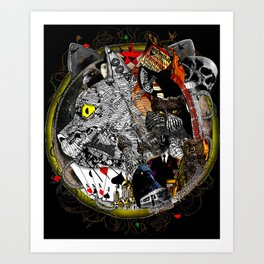 Master and Margarita Art Print