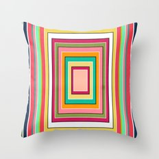 Floor Pattern Throw Pillow