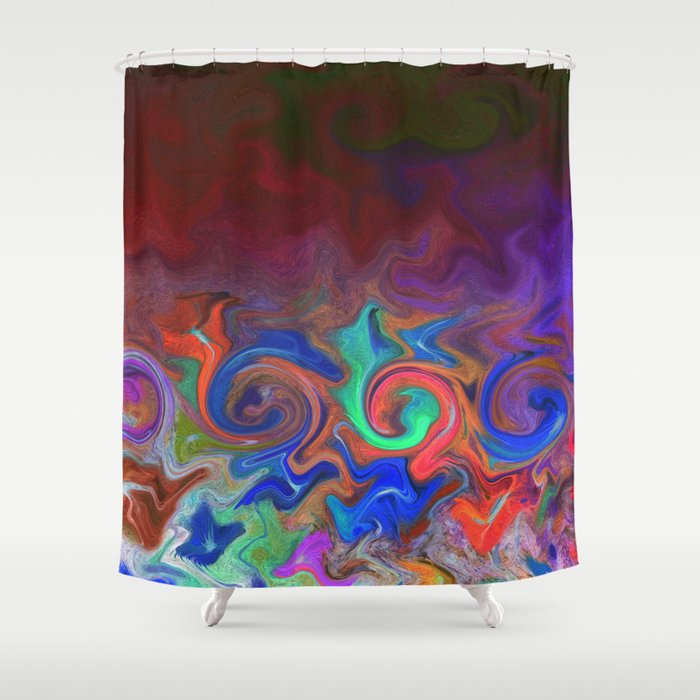 Tuesday Morning Leftovers Shower Curtain