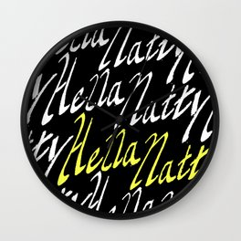 Hella Natty Wall Clock