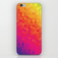 honeycomb iPhone & iPod Skins featuring honeycomb by snja