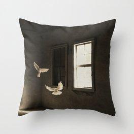 Wandering spirits Throw Pillow