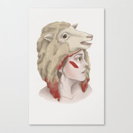We Are Sheep Canvas Print