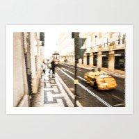 street Art Prints featuring Street by Sébastien BOUVIER