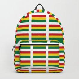 flag of bolivia 2 -bolivian,boliviano,bolivian,Sucre, La Paz. Backpack