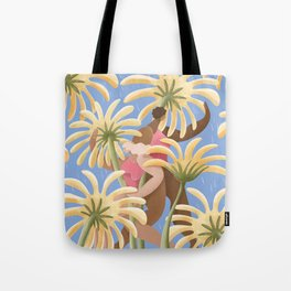 Don't let a little bit of rain keep you from dancing in the sun Tote Bag