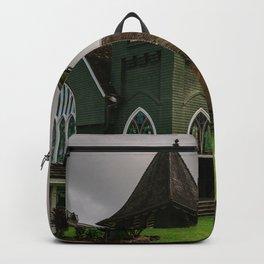 Wai'oli Hui'ia Church Hanalei Kauai Hawaii | Tropical Island Architecture Photography Print Backpack