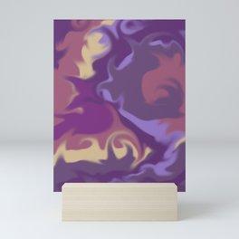 Mixed Liquid collection 1 Mini Art Print