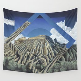 Mount Garfield Polyscape Wall Tapestry