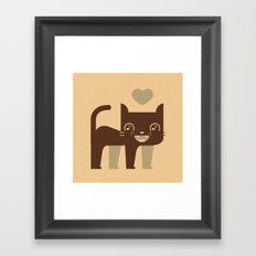 Kittie  Framed Art Print