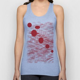red planets Unisex Tank Top