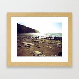 Land Mark Framed Art Print