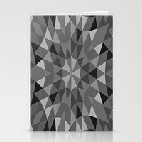 gray pattern Stationery Cards featuring Gray Pattern by 2sweet4words Designs