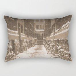 Bike Path Rectangular Pillow