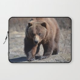 Alaskan Grizzly Bear - Spring Laptop Sleeve