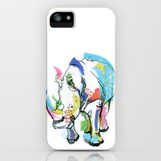 Rhino colour iPhone (5, 5s) Slim Case