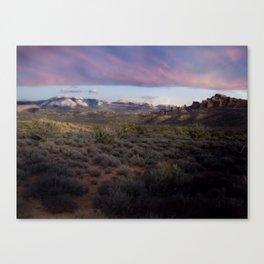 Dusk at Arches National Park Moab, UT Canvas Print