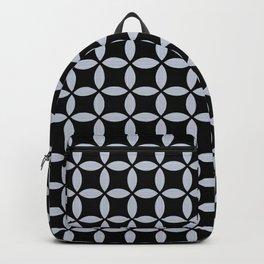 Ticking on Black Backpack