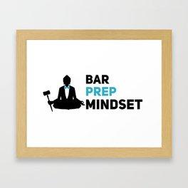 Bar Prep Mode Framed Art Print
