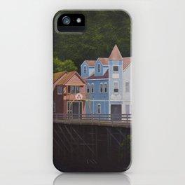 Ketchikan's Creek Street iPhone Case