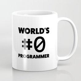 World's #0 programmer Coffee Mug