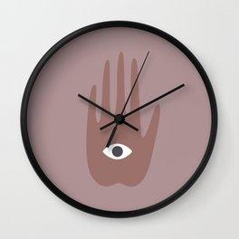 hamsa II Wall Clock