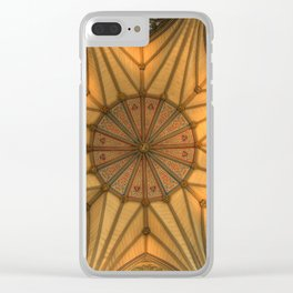 The Chapter House York Minster Clear iPhone Case