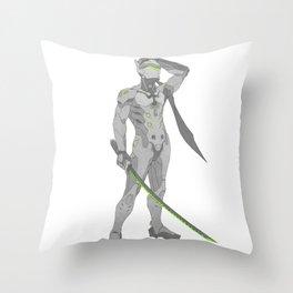 Genji Throw Pillow