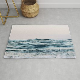 Sea Water Flow Rug