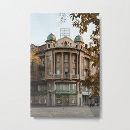 Architecture in Subotica, Serbia // fall // autumn Metal Print