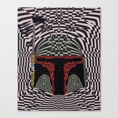 Boba Effect Canvas Print
