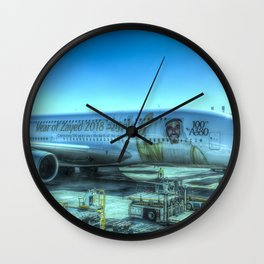 Emirates Airbus A380-800 Wall Clock