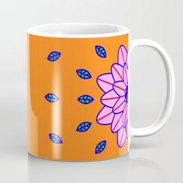 Flower Power Orange Vibes Coffee Mug