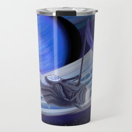 Through Space and Sound Travel Mug