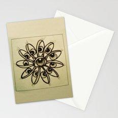Eye Flower Stationery Cards
