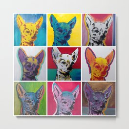 Chihuahuas Metal Print