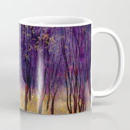 Melancholic autumn forest Coffee Mug