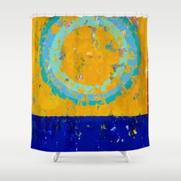 turntable #020430192200 Shower Curtain