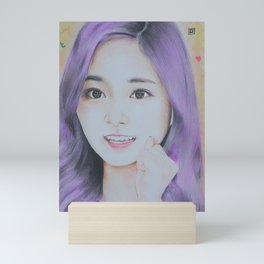 Kpop Twice Tzuyu Mini Art Print
