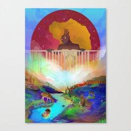 Cradle of Joy Canvas Print