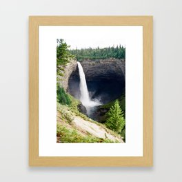 Helmcken Falls, British Columbia  Framed Art Print
