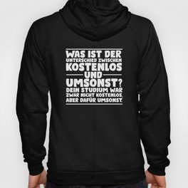 Study / University / Funny Saying / Academics Hoody