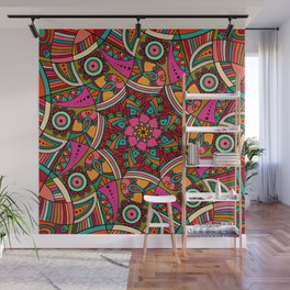 African Ornaments No1 Wall Mural