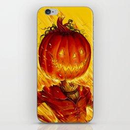 Pumpkin King iPhone Skin