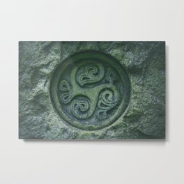 Secret Sign Metal Print