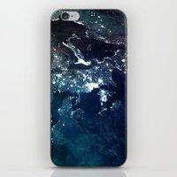 europe iPhone & iPod Skins featuring Europe UpsideDown by Marco Bagni