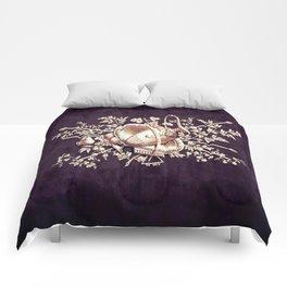 Vintage Purple Comforters
