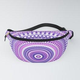 Purple Forever Mandala Fanny Pack