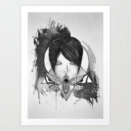 Shut Your Moth Art Print